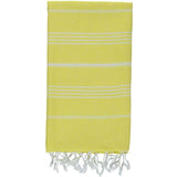 Yellowish - 100% Cotton Mini Turkish Towel