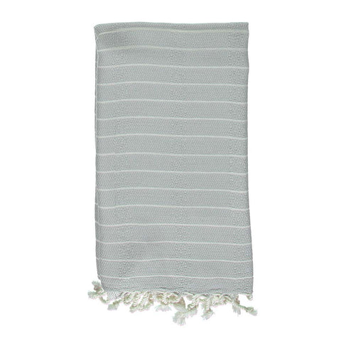 Grey Bamboo & Cotton Turkish Towel