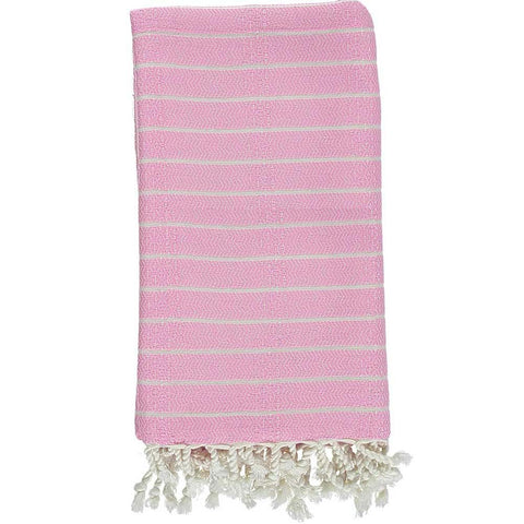 Power Pink Bamboo & Cotton Turkish Towel
