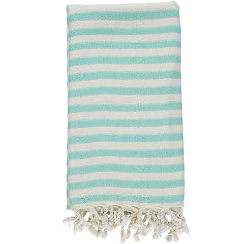 Mint Bamboo & Cotton Turkish Towel