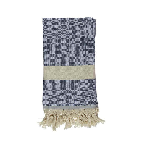 Demin Bamboo & Cotton Turkish Towel