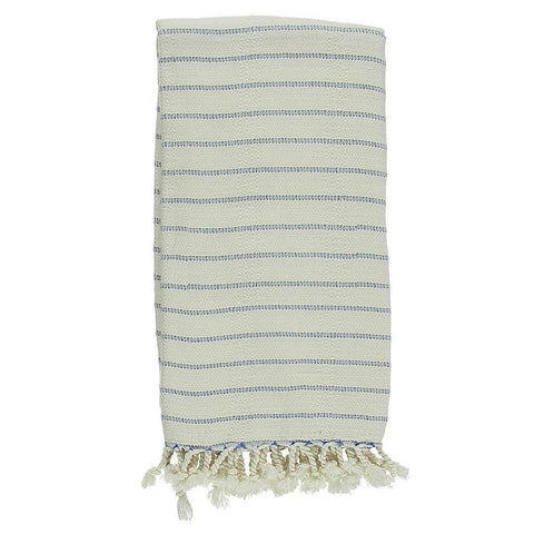Royal Blue Bamboo & Cotton Turkish Towel