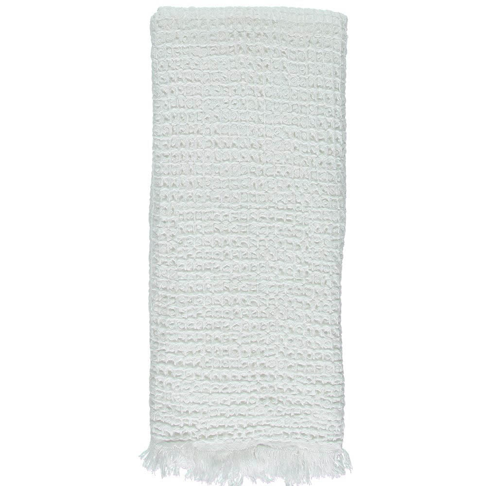 White Waffle Mini Bath Turkish Towel