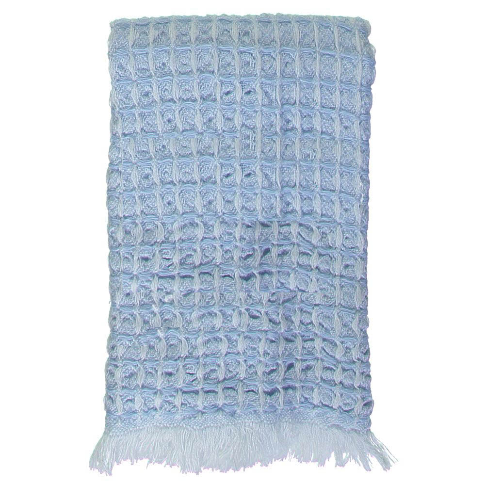 Blue Waffle Mini Bath Turkish Towel