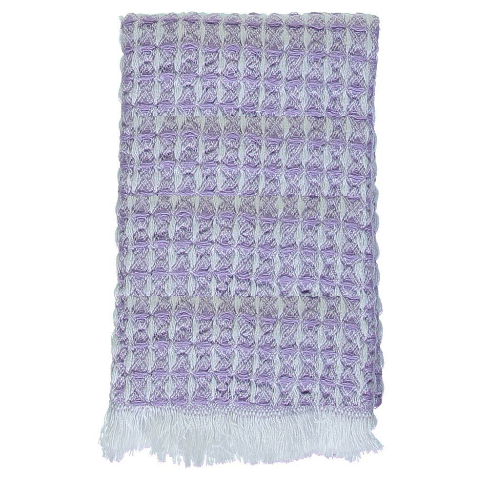 Purple Waffle Mini Bath Turkish Towel