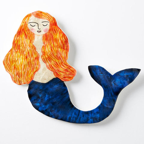 Blue Mermaid Wall Art
