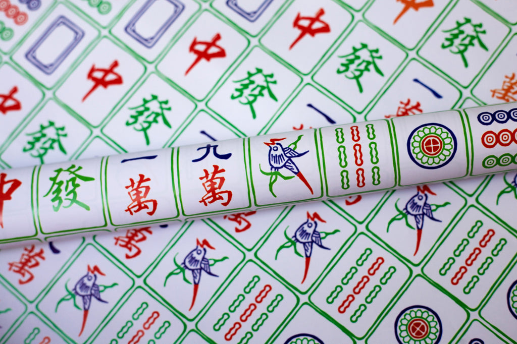 Mahjong Wrapping Paper