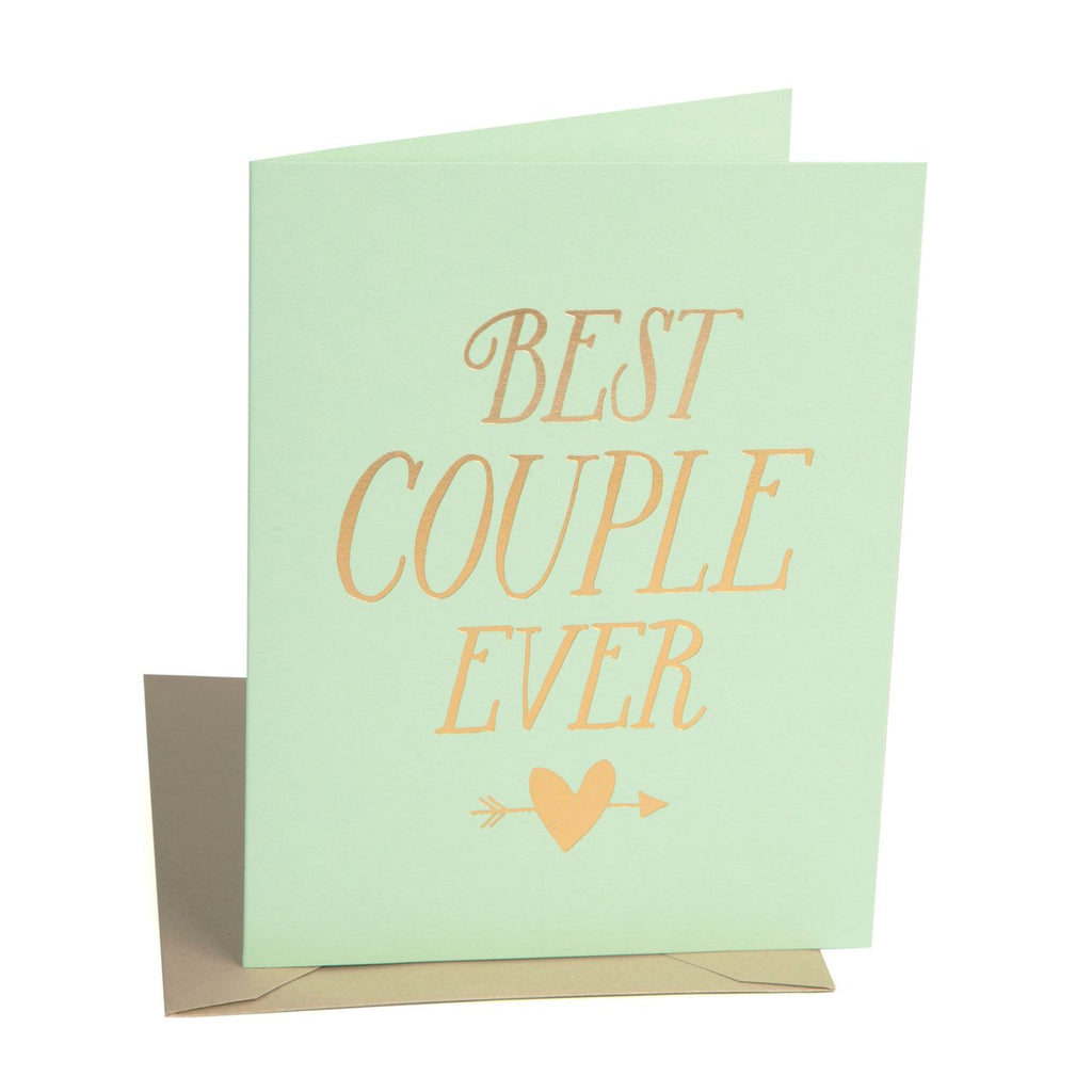 """Best Couple"" Card"