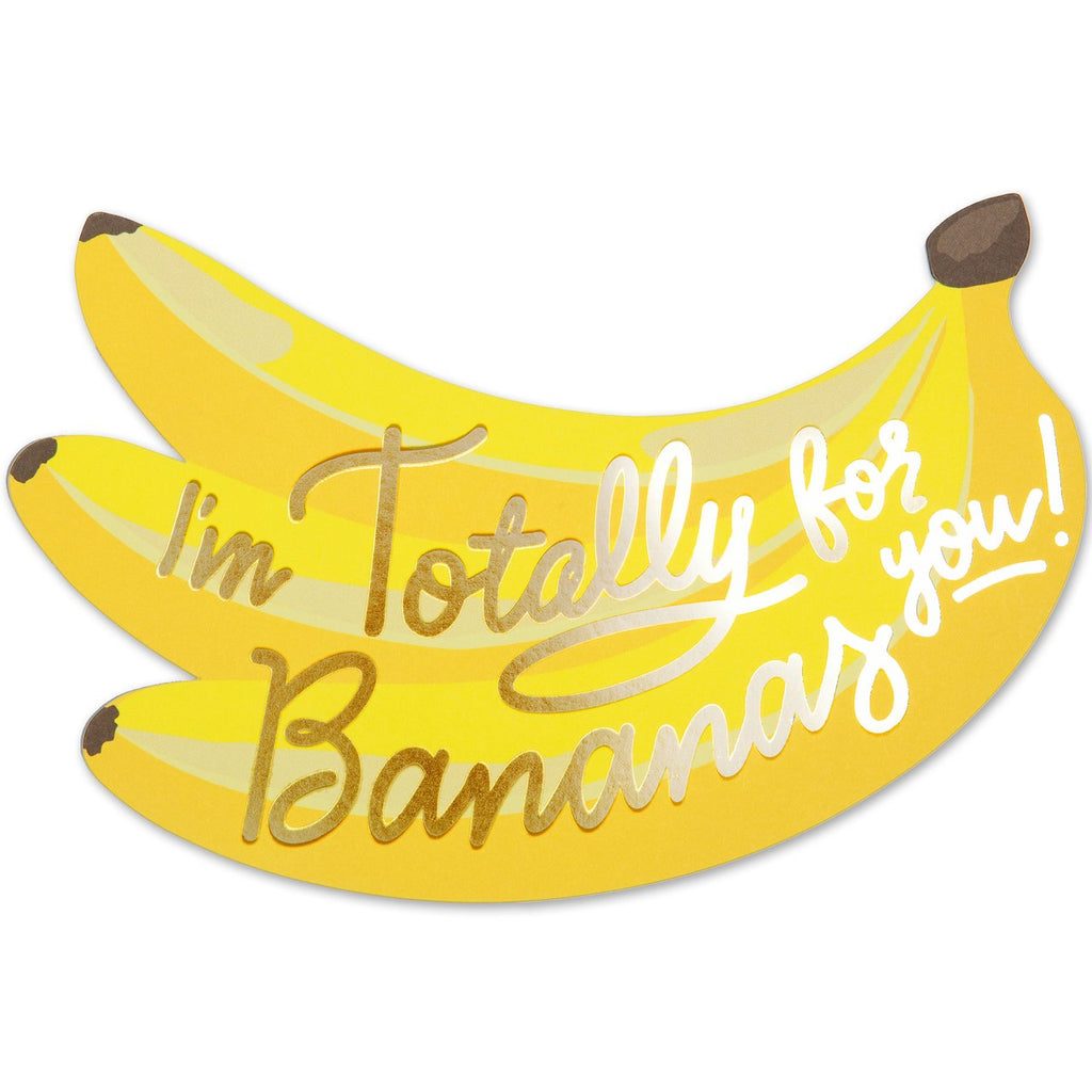 """ BANANAS FOR YOU "" Card"