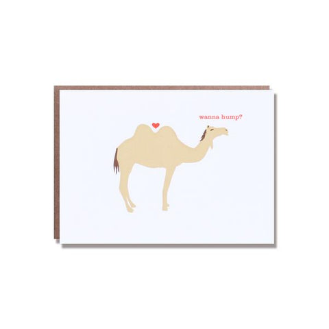 'Wanna Hump' Card