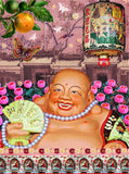 Happy Laughing Buddha Artwork