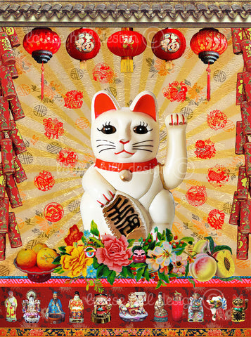Lucky Cat Artwork