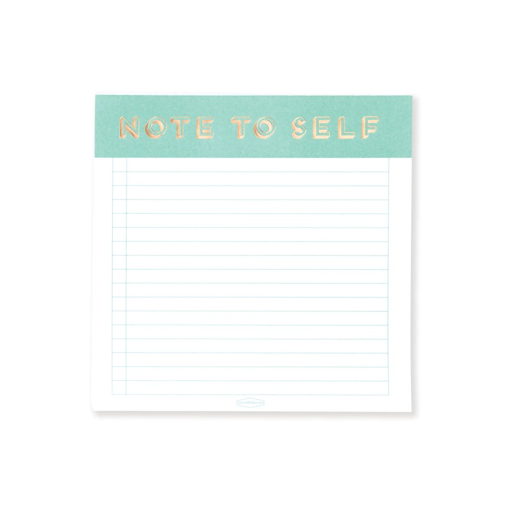 """Note to Self"" 