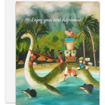 """ Enjoy Your Next Adventure "" Card"