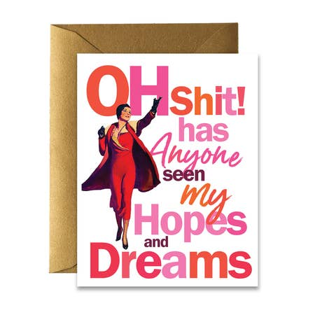 """ Hopes & Dreams "" Card"