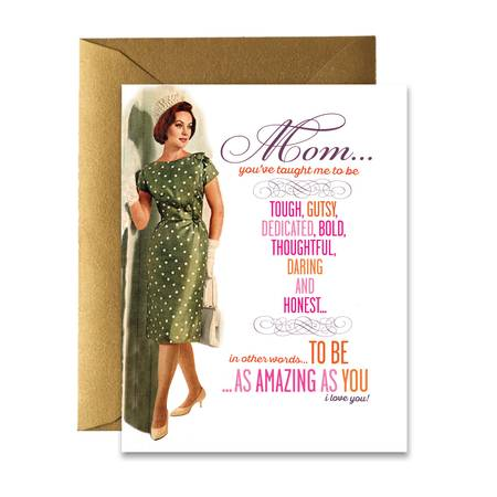 """ Amazing Mom "" Card"