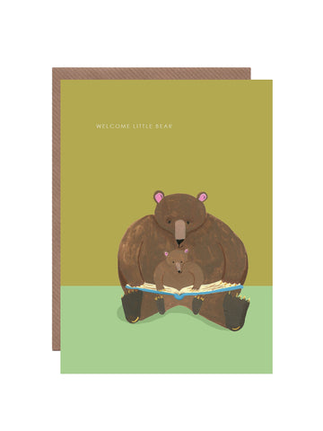 """ Little Bear "" Card"