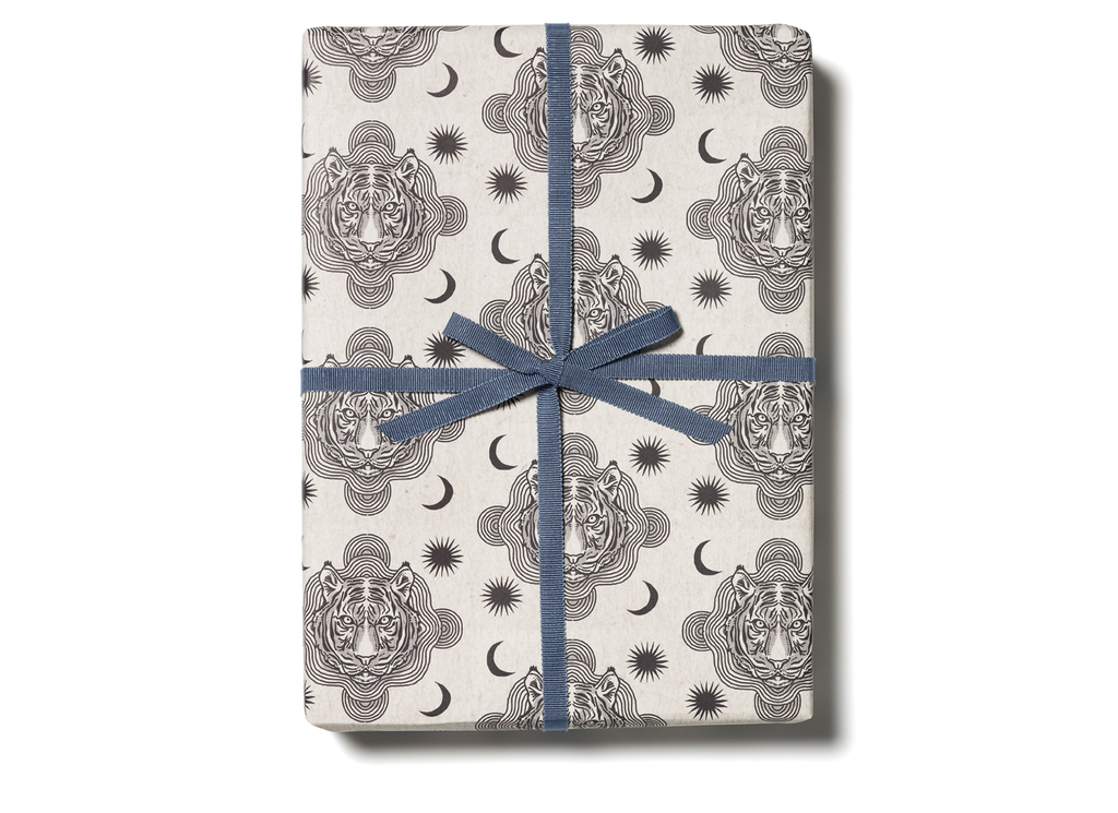 """ Tiger Heads "" Gift Wrap"