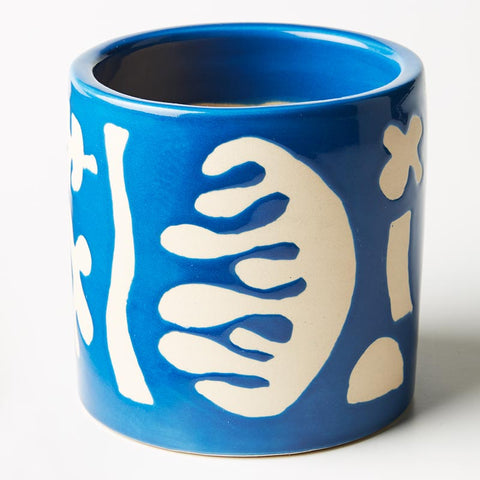 Matisse Planter Blue