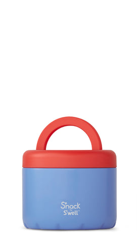 Blue Cornflower - Stainless Steel S'well Food Container