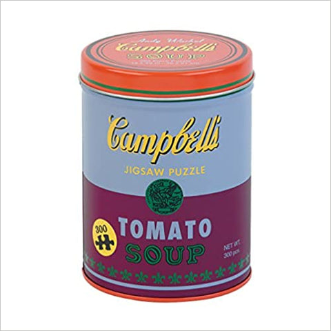 Andy Warhol 300 Piece Soup Puzzle (Tin)