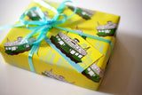 Yellow Ferry Gift Tag