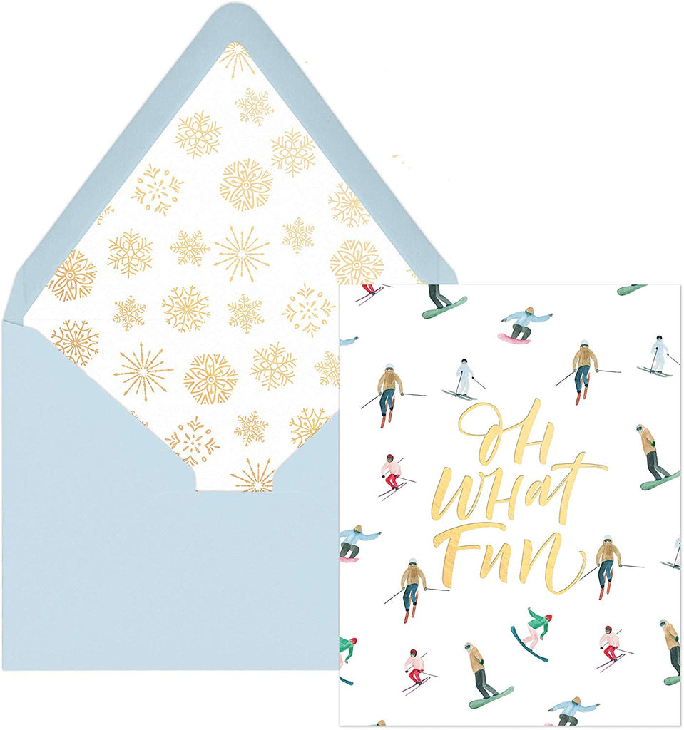 """ Oh What Fun Ski "" 