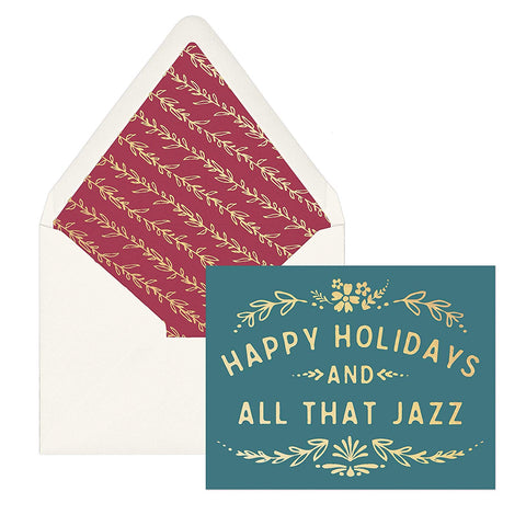 """Happy Holidays & All that Jazz"" 
