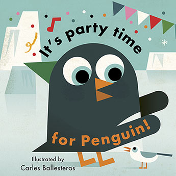 Little Faces: Its Party Time For Penguin