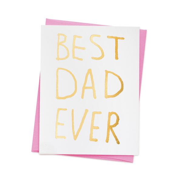 'Best Dad Ever' Card