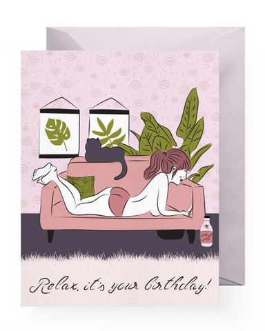 Chill Birthday Card