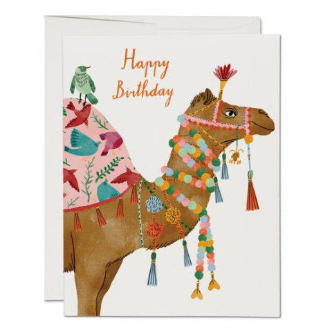 """Camel Birthday"" Card Greeting Cards - Thorn and Burrow"