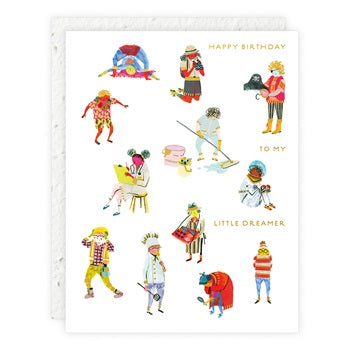 """ Dress Up  "" Greeting Card"