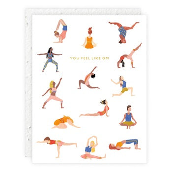 """ Yogis "" Greeting Card"