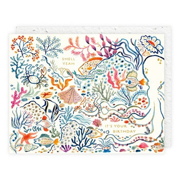 """ Hidden Sea Life "" Greeting Card"