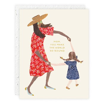 """ Little Girl "" Greeting Card"