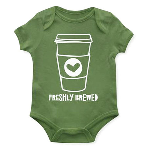 Freshly Brewed OnesieBaby Bodysuit