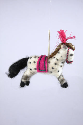 CIRCUS PONY ORNAMENT