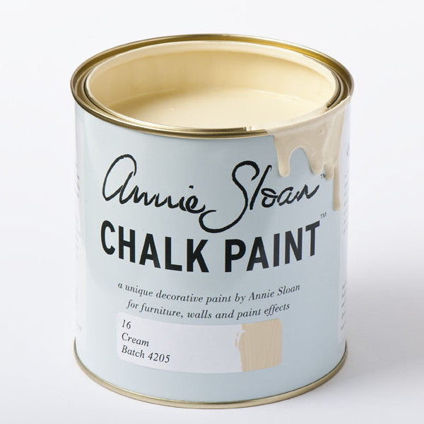 Cream Annie Sloan Chalk Paint®