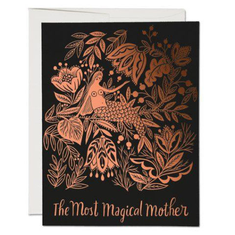 """ Magical Mother "" Card Greeting Cards - Thorn and Burrow"
