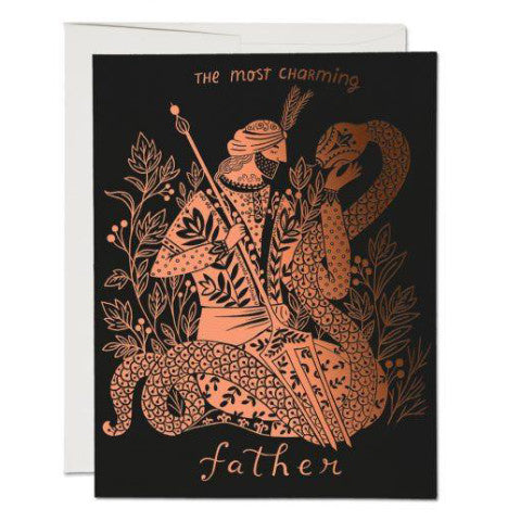 """ Charming Father "" Card Greeting Cards - Thorn and Burrow"