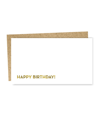""" Birthday "" Mini Card"