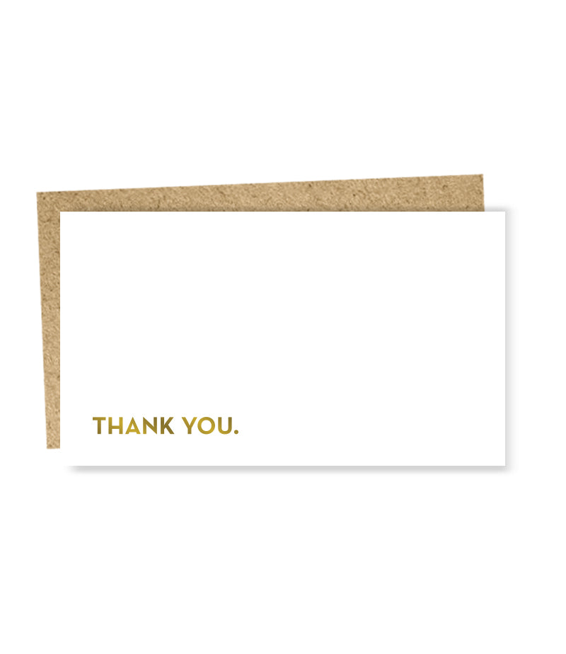 """ Thank You "" Mini Card"