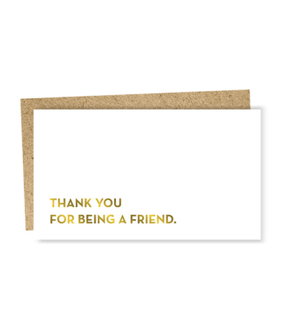 """ Friend "" Mini Card"