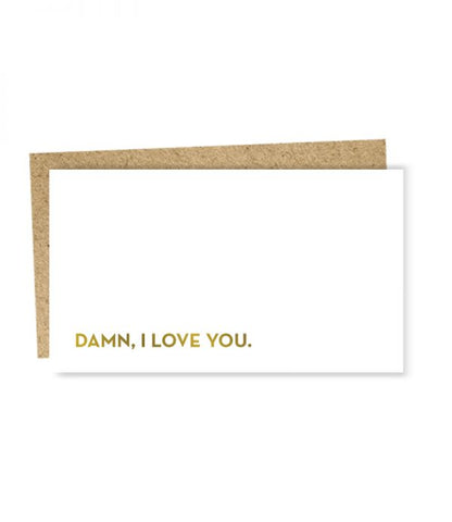 """ I love You "" Mini Card"