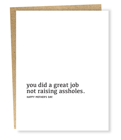 """ Great Job "" Card"