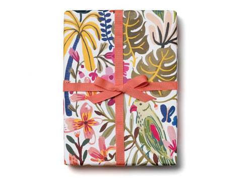Tropical Jungle Gift Wrap