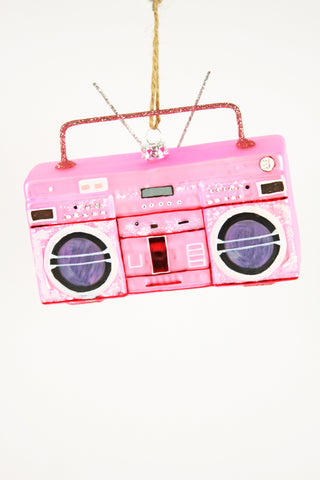 BOOMBOX ORNAMENT - PINK