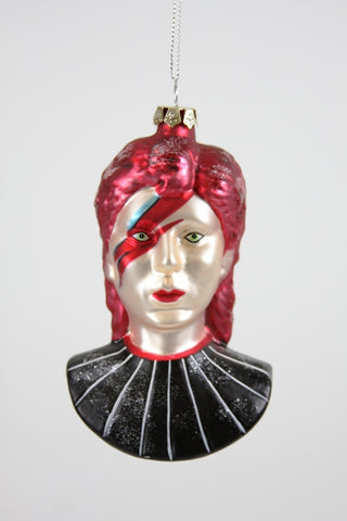 David Bowie Bust ORNAMENT