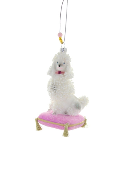 POODLE DOG ORNAMENT